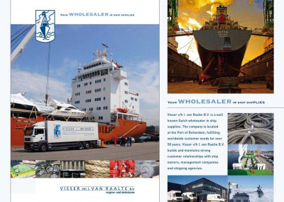Wholesaler in ship supplies